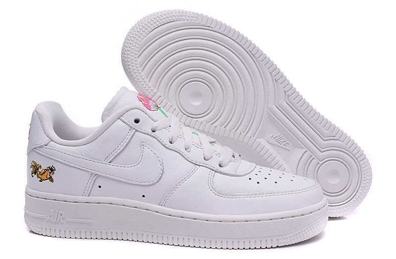 air force one femme rose et blanche