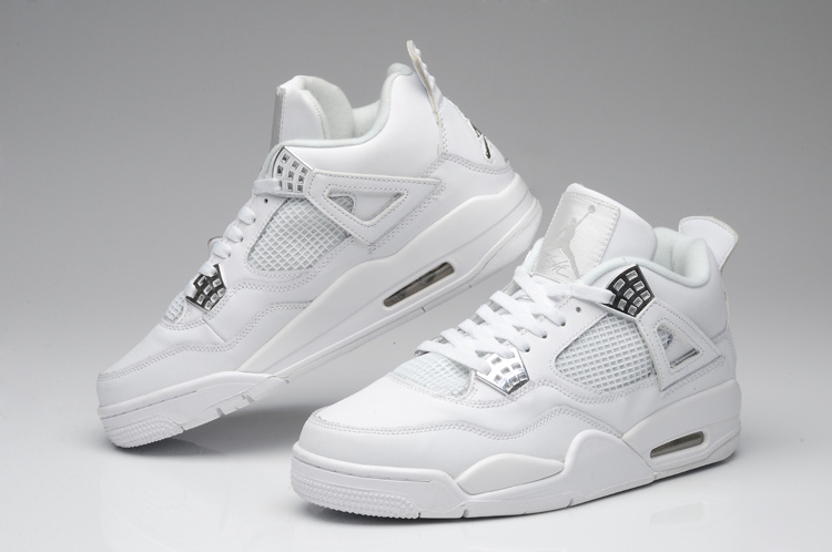 air jordan 4 retro blanche