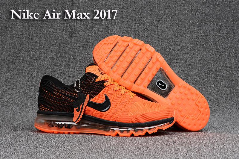 air max 2017 orange