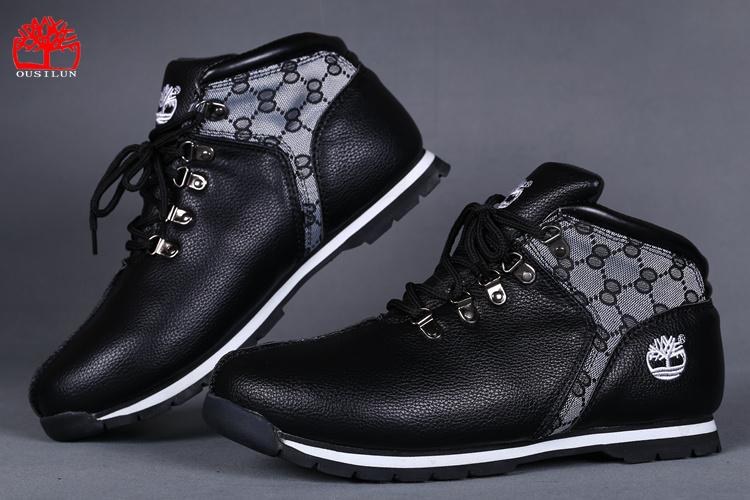 timberland homme noir et blanc,digne des chaussures Des