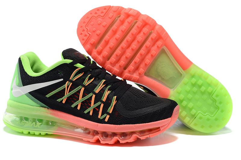 chaussure femme nike air max,air max 2015 noir et verte femme,air max nike  femme