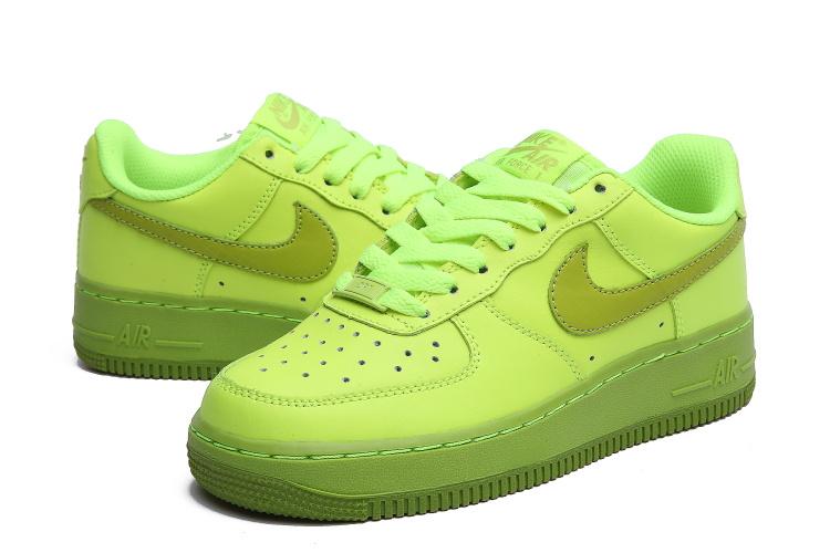 air force 1 femme verte