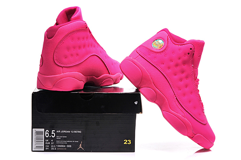 jordan 13 femme,Nike Air Jordan 13 Femme Gris Fusion Rose