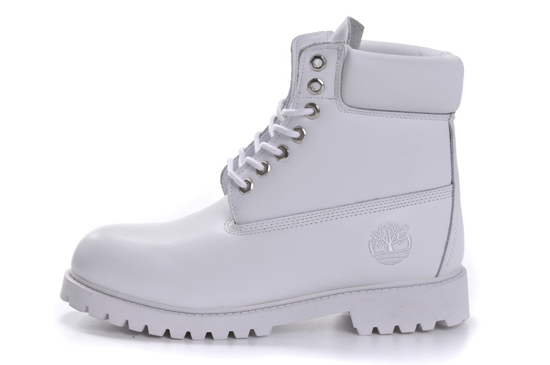 timberland homme cuir blanc