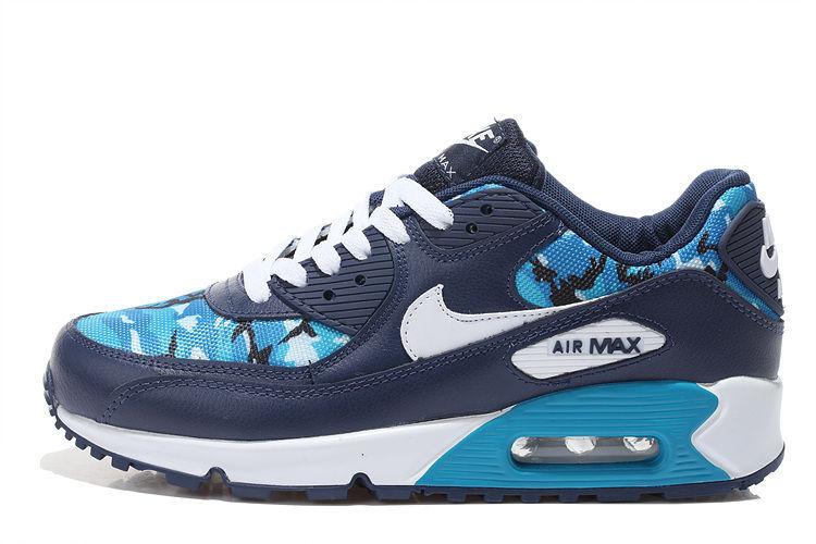air max 90 bleu pas cher