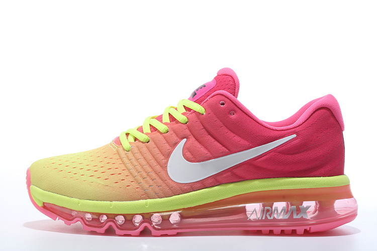 new style dd851 c2fb0 ... chaussure nike pas cher femme air max 2017 rose et verte femme awdih