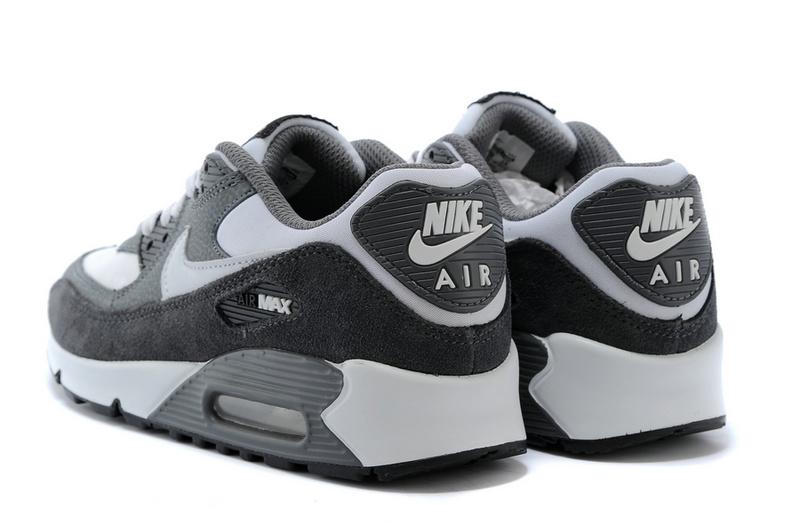innovative design b0769 b6727 ... nike air max pour homme air max 90 blanche et gris homme chaussure air  max