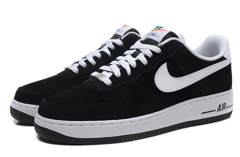 air force one blanche noir homme