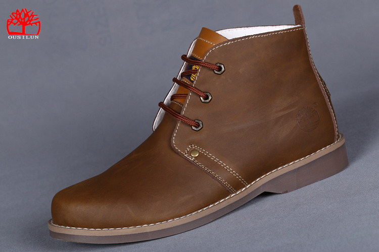 timberland chaussures homme marron