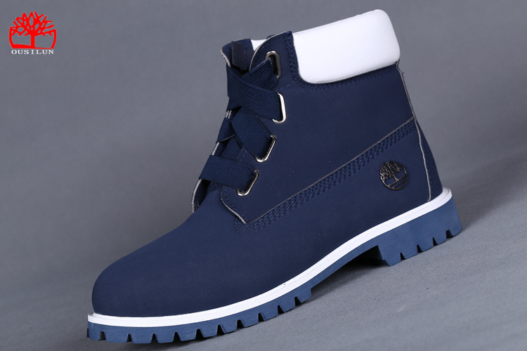 timberland chaussure homme bleu