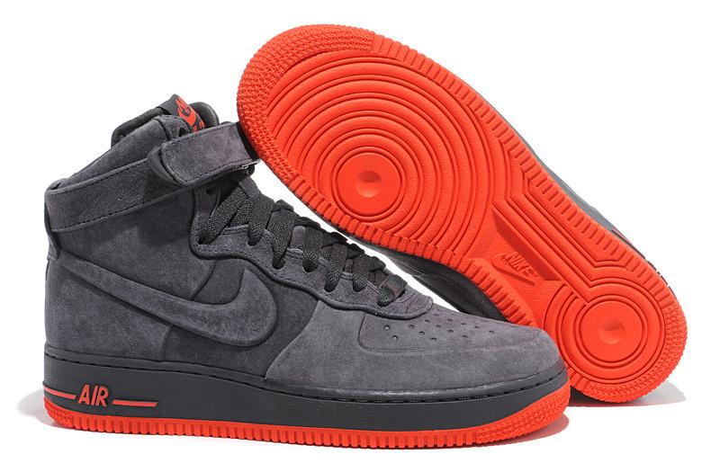 Homme homme Mid Nike Force 1 Gris Clair Daim Air dxBCtsQrh