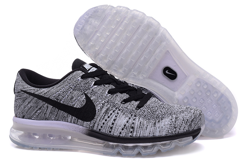 nike flyknit air max femme grise