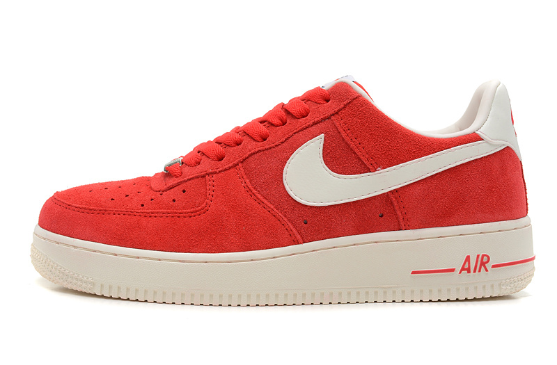 basket nike air force 1 low rouge