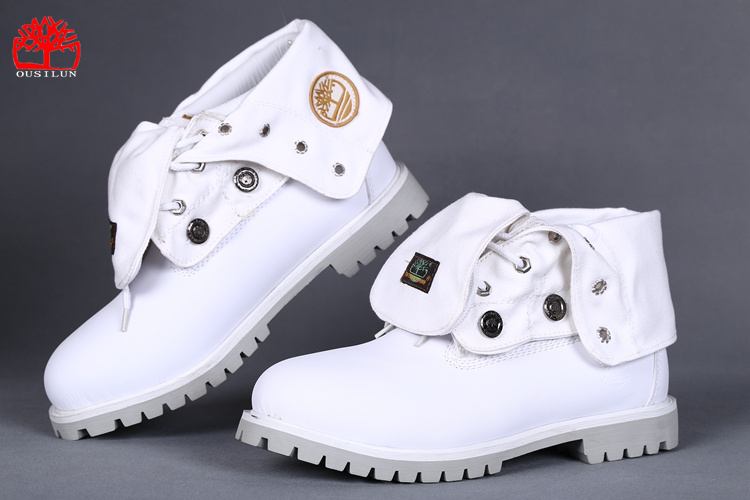 timberland blanche femme solde