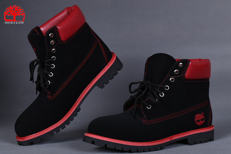 timberland rouge pour femme