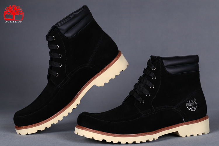 timberland homme daim